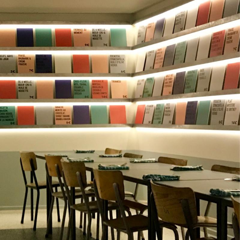 Britney, restaurant JB Lebas, Lille
